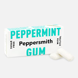 Peppersmith Kaugummi Pfefferminze
